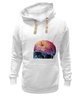 "Толстовка Wearcraft Premium унисекс ""Bleeding skull"" - skull, череп, apple"