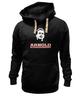 """Толстовка Wearcraft Premium унисекс """"Arnold Schwarzenegger"""" - кино, arnold schwarzenegger, терминатор, terminator, арнольд шварценеггер"""