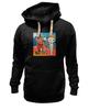 """Толстовка Wearcraft Premium унисекс """"Basquiat/Жан-Мишель Баския"""" - граффити, корона, snoopy, basquiat, баския"""