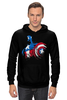 "Толстовка ""Капитан Америка"" - супергерои, marvel, марвел, капитан америка, captain america"