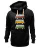 """Толстовка Wearcraft Premium унисекс """"Светофор"""" - авто, pixel, автомобиль, путешествие, travel, пиксель арт, pixel art, пиксель-арт, rome, paris"""