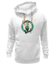 "Толстовка Wearcraft Premium унисекс ""Boston Celtics"" - nba, нба, бостон селтикс"