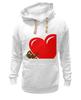 "Толстовка Wearcraft Premium унисекс ""bear heart "" - heart, bear, bear heart"