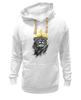 """Толстовка Wearcraft Premium унисекс """"Король Лев"""" - корона, лев, царь зверей, животные"""