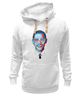 "Толстовка Wearcraft Premium унисекс ""Барак Обама"" - арт, usa, сша, президент, president, barack obama"