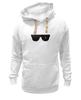 "Толстовка Wearcraft Premium унисекс ""Очки Терминатора"" - очки, терминатор, арни, шварц, the terminator"