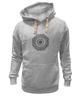 "Толстовка Wearcraft Premium унисекс ""Символ лотоса"" - восток, знаки, символы, религия, лотос"