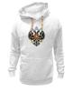 """Толстовка Wearcraft Premium унисекс """"Российская Империя"""" - россия, герб, империя, российская империя, двухглавый орёл"""