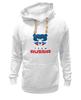 "Толстовка Wearcraft Premium унисекс ""Russia team"" - русский, россия, russia, путин"