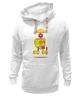 "Толстовка Wearcraft Premium унисекс ""Гомер Симпсон (Homer Simpson)"" - гомер симпсон, the simpsons"
