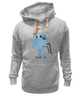 "Толстовка Wearcraft Premium унисекс ""Рэйнбоу Дэш"" - рисунок, rainbow dash, mlp, pony, пони"