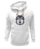 """Толстовка Wearcraft Premium унисекс """"Серый Волк"""" - животные, animal, волк, wolf"""
