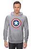 "Толстовка Wearcraft Premium унисекс ""Marvel"" - комиксы, супергерой, marvel, марвел, капитан америка, captain america"