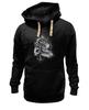 "Толстовка Wearcraft Premium унисекс ""Black-white Lion "" - арт, king, лев, король, lion, black n white"