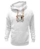 """Толстовка Wearcraft Premium унисекс """"Настоящая любовь"""" - череп, любовь, цветы, настоящая любовь"""
