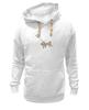 """Толстовка Wearcraft Premium унисекс """"собака"""" - арт, животные, рисунок, собака, природа"""