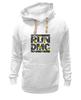 "Толстовка Wearcraft Premium унисекс ""RUN DMC"" - rap, цветы, нью-йорк, хип-хоп, run, dmc, nyc, run dmc, ран ди-эм-си"