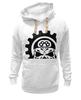 """Толстовка Wearcraft Premium унисекс """"Череп с ключом"""" - skull, авторские майки"""
