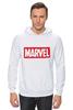 "Толстовка Wearcraft Premium унисекс ""Marvel"" - комиксы, классная, крутая, marvel, spider man, марвел, железный человек, iron man, капитан америка, локи"