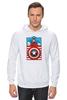 """Толстовка Wearcraft Premium унисекс """"Капитан Америка. Винтаж"""" - comics, marvel, poster, марвел, vintage, капитан америка, captain america"""