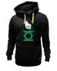 "Толстовка Wearcraft Premium унисекс ""Green Lantern "" - арт, green, dc, lantern, green lantern, dc comics, зелёный фонарь"