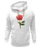 "Толстовка Wearcraft Premium унисекс ""С 8 марта!"" - цветы, rose, роза, акварель, tseart"