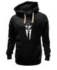 "Толстовка Wearcraft Premium унисекс ""Мистер Волк"" - стиль, волк, wolf, бизнес, suit"
