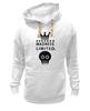 "Толстовка Wearcraft Premium унисекс ""Madness"" - skull, череп, корона, фэшн, crown"