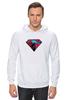 "Толстовка Wearcraft Premium унисекс ""superman"" - superman, супергерои"