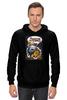 "Толстовка Wearcraft Premium унисекс ""Adventure Time Finn and Jake "" - арт, смешные, приколы, adventure time, время приключений, джейк, jake, finn, финн"