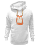 """Толстовка Wearcraft Premium унисекс """"Лисичка (Fox)"""" - fox, лиса, лисичка"""