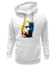 "Толстовка Wearcraft Premium унисекс ""Nirvana Kurt Cobain "" - nirvana, рок, kurt cobain, курт кобейн, нирвана"