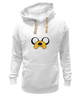 "Толстовка Wearcraft Premium унисекс "" Jake-Dog"" - adventure time, время приключений, jake, jake the dog"
