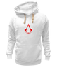 "Толстовка Wearcraft Premium унисекс ""assassins creed (logo)"" - assassin's creed, кредо ассасина"