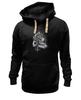"""Толстовка Wearcraft Premium унисекс """"Lion in Cages"""" - skull, череп, арт, крылья, king, лев, девушке, ловец снов, dream catcher"""