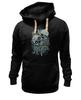 "Толстовка Wearcraft Premium унисекс ""Skull Art"" - skull, skulls, дизайн, череп, черепа"