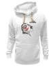 "Толстовка Wearcraft Premium унисекс ""Evil Clown"" - арт, клоун, evil, зло, clown"
