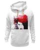"Толстовка Wearcraft Premium унисекс ""Marilyn Manson"" - портрет, акварель, менсон, marilyn, manson"
