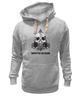 "Толстовка Wearcraft Premium унисекс ""Hardstyle Battalion"" - skull, череп, батальон, battalion, hardstyle"