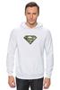 """Толстовка Wearcraft Premium унисекс """"Superman - камуфляж"""" - superman, россия, камуфляж, camo"""