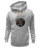 """Толстовка Wearcraft Premium унисекс """"Виниловая пластинка"""" - арт, винил, ноты, vinyl, грампластинка"""