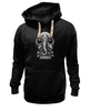 "Толстовка Wearcraft Premium унисекс ""Art Horror"" - skull, череп, слон, черепа и кости, elefant"