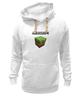 "Толстовка Wearcraft Premium унисекс ""Minecraft - Куб"" - minecraft, майнкрафт"