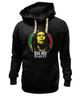 "Толстовка Wearcraft Premium унисекс ""Bob Marley"" - регги, боб марли, bob marley, reggae, ска"