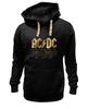 "Толстовка Wearcraft Premium унисекс ""AC/DC"" - music, rock, золото, кумиры, автралия"