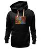 "Толстовка Wearcraft Premium унисекс ""Basquiat"" - черепа, граффити, корона, basquiat, баския"