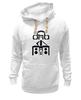 "Толстовка Wearcraft Premium унисекс ""dnb listen it"" - dnb, drum, drum&bass, d&b, драм-н-бэйс"