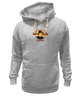 "Толстовка Wearcraft Premium унисекс ""Hard Rocky"" - бокс, кино, боксер, сталлоне, рокки"