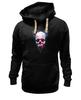 """Толстовка Wearcraft Premium унисекс """"Вселенная"""" - skull, череп, космос, абстракция, вселенная"""