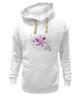 """Толстовка Wearcraft Premium унисекс """"Розовая орхидея"""" - акварель, орхидея, розовый цветы"""